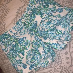 Lilly Pulitzer Buttercup Patterned Shorts